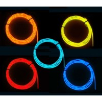 Kabel Neon Length 2m ElectroLuminescent Wire / El Wire Diameter 2.3mm