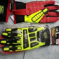 Sarung tangan / Ringers glove high impact merk ROUGHNECK TEFLOC+