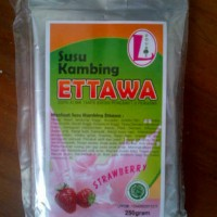 Susu Kambing Ettawa Double L Rasa Strawberry