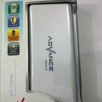 Power Bank Advance 13000mAh Dual Output plus senter