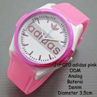 jam tangan wanita / cewek / Adidas jtr 070 pink