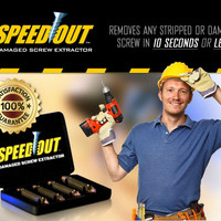 SPEED OUT alat pertukangan perlengkapan mesin bor obeng Screw Extract