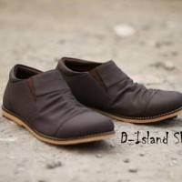 ISLAND SHOES DARK BROWN 10