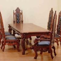 Set Kursi Makan Raja // King Dinning Table