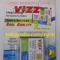 Battery Galaxy Fame/GIO/FIT/FIO/ACE 2700MAH VIZZ long lasting Baterai Samsung S5830 S5670 S5660