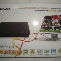 TV Tuner/Converter AV to VGA untuk Monitor CRT/LCD/LED Gadmei 5821 New (Tanpa PC/CPU)