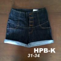Hotpants Jumbo Highwaist Black Garment
