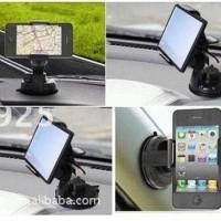 Universal Car Holder Gadget/Tempat HP, GPS putar vacuum cup di Mobil