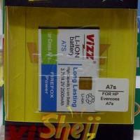 Baterai/Battery VIZZ for EVERCROSS A7S 2500MAH Dou