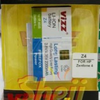 Baterai/Battery VIZZ for ZENFONE 4 2300MAH Double