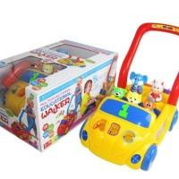 Alat Bantu Jalan Educational Baby Walker Car