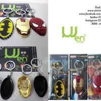 Harga gantungan kunci superman batman iron man | Pembandingharga.com