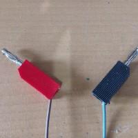 Banana Jack Lux Merah Hitam Sepasang (2 pc) tanpa kabel