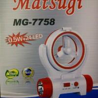 Senter + Kipas / MATSUGI MG-7758/ Multifunction La