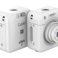 Altek Cubic Wireless Kamera - 13 MP - White