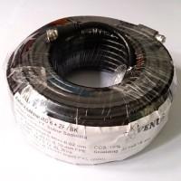 VENUS KABEL KOAKSIAL RG-6 + 2F / BK (PARABOLA) 20M