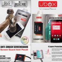 Anti Gores Ubox Anti-Smash Anti Scratch Screen Guard 0.25m OnePlus One