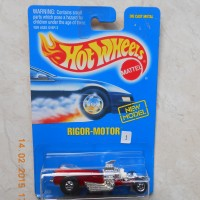 Hot Wheels Balap Rigor Motor Red