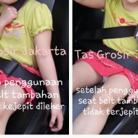 Seat Belt Tambahan untuk Anak Kecil/Sabuk Pengaman Tambahan/car seat