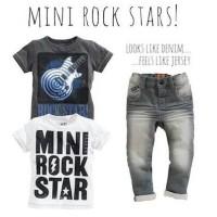 BAJU ANAK BOYSET MINI ROCK STARS