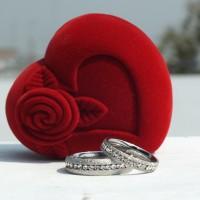 CINCIN COUPLE - Rubic Zirconia Silver Ring