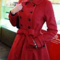 blazer red flece