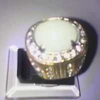 cincin natural fospor hijau ring Limited edition