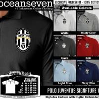 Kaos Distro Ocean Seven Polo Juventus Signature 1