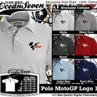 Kaos Distro Ocean Seven Polo MotoGP Logo 1