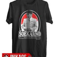 Kaos Bung Karno Soekarno Presiden RI - Kode BKR10