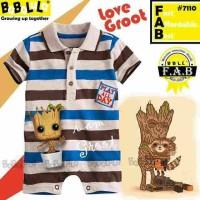Baju bayi romper babalula 7110 Groot