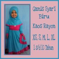 Gamis Anak Syar'i M (5-6 Tahun)