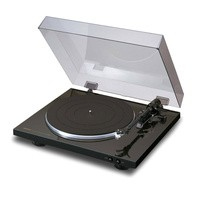 Denon DP-300F Turntable - Hitam