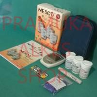 Alat test gula darah, kolesterol, asam urat Nesco 3in1 murah