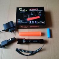 senter mini swat police jl c22s daya besar led tut