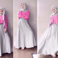 MAXI HIJAB 3IN1 (DRESS+OUTTER+PASHMINA)