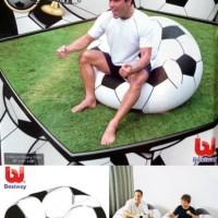 sofa angin bola / sofa angin soccer bestway