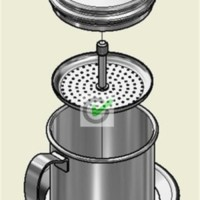 Jual Coffee Drip ala Vietnam - Edelmann ( Single Cup ) Murah