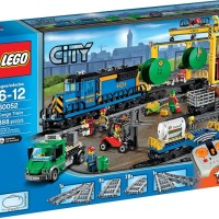 Toys LEGO City Cargo Train 60052