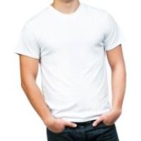 Grosir Kaos Putih Polos Size S