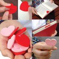 C15116 pembatas buku love random import gaya korea koleksi ichika