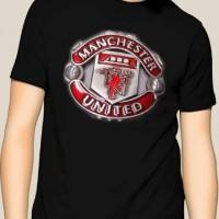 Manchester United Logo Kaos 3D Umakuka