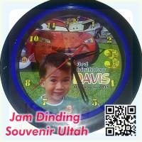 souvenir ultah - Jam Dinding Foto