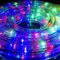 Lampu LED Hias SELANG Outdoor 10 M Warna Warni Eksterior Natal Taman