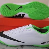Sepatu Futsal nike mercurial victory IV white original murah