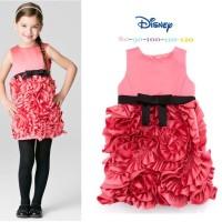Baju Anak - Pink Ruffle Dress (GI-577)