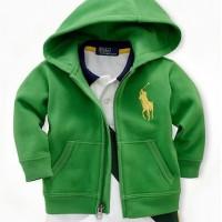 Baju Anak - Hoodie Jacket Green (T-070)