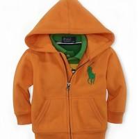 Baju Anak - Hoodie Jacket Orange (T-070)