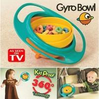 Gyro bowl mangkok anti tumpah balita bayi anak snack bubur nasi kids