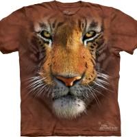 Kaos 3D The Mountain - Tiger Face